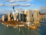 Lower Manhattan Cityscape