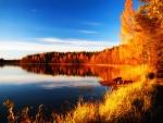 Autumn lake