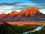 Snake River, Grand Tetons, Wyoming