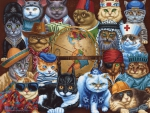 Cat's Around  World