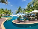 Exotic Tropical Resort on Beach