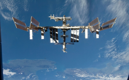 International Space Station - Earth, Station, International, Space