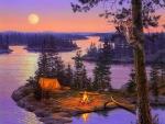 ★Full Moon Camping★