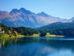 Pristine Morning At Lake St. Moritz