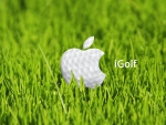 I love golf - Apple