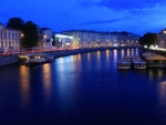 Evening in Saint Petersburg, Russia