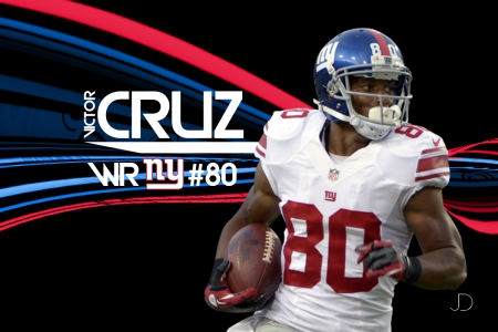 Victor Cruz - newyork, nfl, giants, york, receiver, victor, new, football, cruz