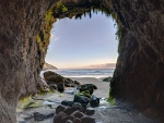 Cave at Haceta Head Beach in Oregon
