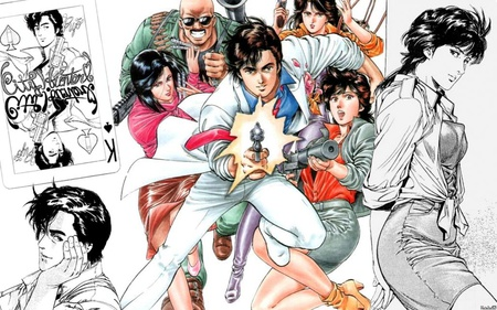 Nicky Larson City Hunter Other Anime Background