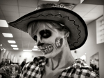 Happy Halloween Cowgirl