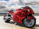 Custom Suzuki Hayabusa motorcycle
