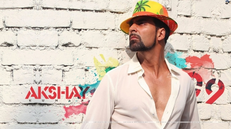 akshay - fashion, actor, style, hat