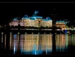 Beautiful Building Reflection at Night
