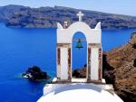 View from Santorini Church