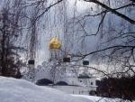 Russian Church through the Trees