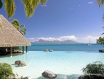Beautiful Island Beach in Tahiti