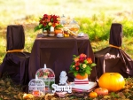 Romantic Autumn Dinner