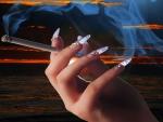 Hand - cigarette