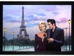 Elvis and Marilyn in Paris