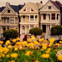 San Francisco Houses (The Six Sisters)
