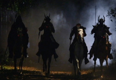 Four Horsemen of Apocalypse - war, Pestilence, Famine, headless horse, sleepy hollow, tv