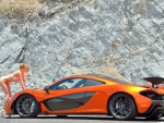 McLaren P1 and Model Anya