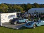 2011 and 1936 Bugatti