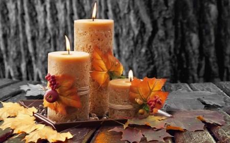 Αutumn candles
