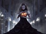 Dark Halloween Maiden