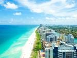 Miami Coastline Landscape