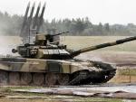 Russian T90 heavy tank