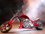 Custom build chopper,