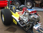 Old school front engine dragster