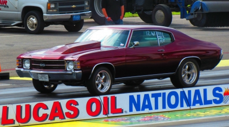 1971 Chevrolet Chevelle - drag car, chevy, racing, drag race, gm, chevrolet, chevelle, 1971, classic, muscle car, 71