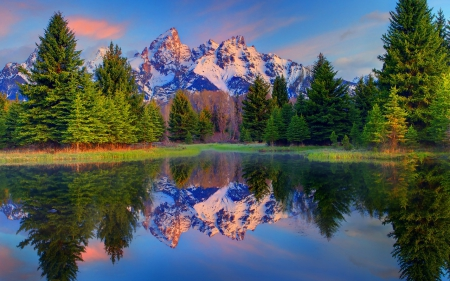 Reflection Mountains