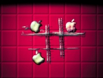 apple tic tac toe