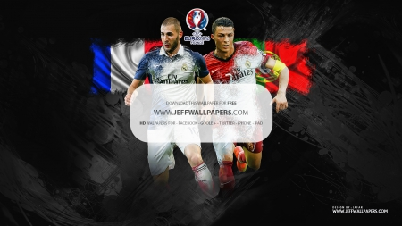 Benzema & CR7 wallpaper - cristiano ronaldo real madrid wallpaper, champions league wallpaper, karim benzema wallpaper, benzema wallpaper, portugal, cristiano ronaldo wallpaper, football wallpaper, ronaldo, nike wallpaper, real madrid wallpaper, cristiano ronaldo, hala madrid, CR7 wallpaper, real madrid, france, champions league, euro 2016 wallpaper