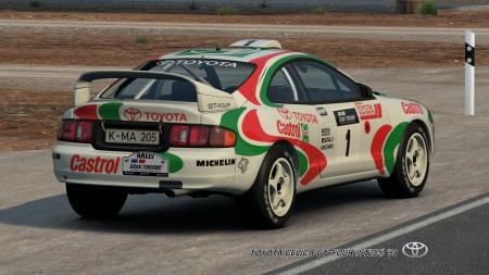 TOYOTA CELICA GT FOUR (ST205) U002798