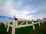 Blue Sky Country fence
