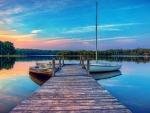 Boats at Lake Dock