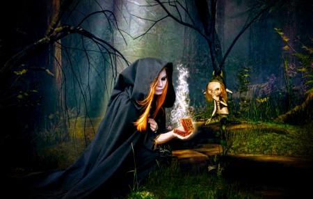 Картинки фэнтези ведьма