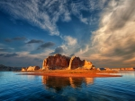Late Evening On Lake Powell