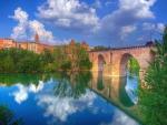 Beautiful Bridge Reflection