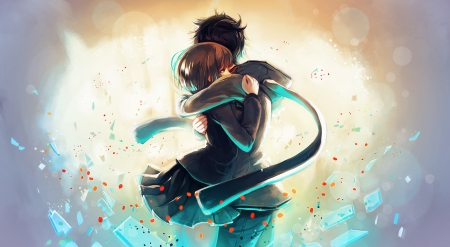 I Will Never Let You Go! - Other & Anime Background Wallpapers on