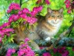 ..Among Flowers..