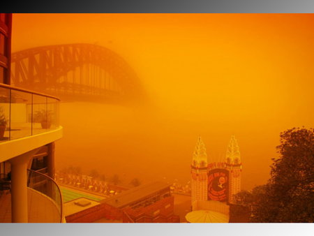 Global Warming is a myth! - global, sydney, bridge, orange