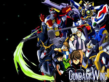 Gundam Wings - anime, manga, gundam wings