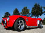 Red Shelby Cobra