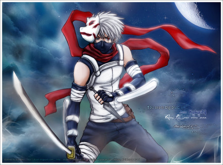 Anbu Kakashi Naruto Anime Background Wallpapers On