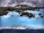 Iceland Landscape I Blue Lagoon HDR